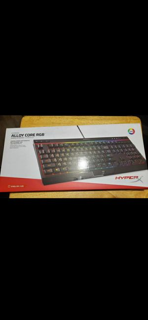 HyperX Alloy RGB (Gaming) Keyboard for Sale in Long Beach, CA