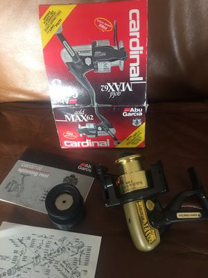 New AbuGarcia Cardinal Max62 fishing reel for Sale in Hendersonville, TN