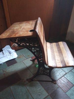 Vintage school desk for Sale in GREYSTONE PARK, NJ