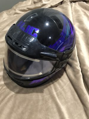 Three snowmobile helmets for Sale in Kent, WA