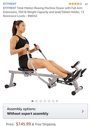Rowing machine for Sale in Lithonia, GA