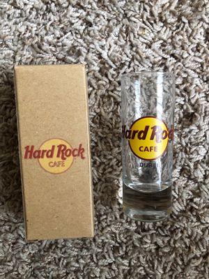 Hard Rock Cafe DUBAI Shot Glass ! for Sale in El Paso, TX