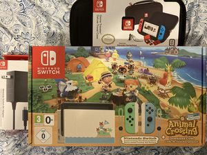 Nintendo Switch Animal Crossing Limited Edition Bundle for Sale in Fresno, CA