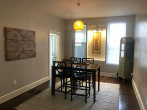 Wooden IKEA Dining Room Table & 4 Chairs for Sale in Washington, DC