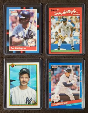 4 Don Mattingly Baseball Cards for Sale in Westland, MI