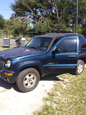 2002 jeep liberty for Sale in Lake Wales, FL