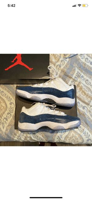 "Air Jordan 11 retro low ""Navy snakeskin"" for Sale in Westland, MI"