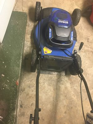 Wireless Battery operated Lawn Mower used for Sale in TWN N CNTRY, FL