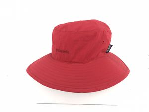 Patagonia Sun Brim Hat | Kids Boys/Girls | Safari Surf Bucket Size Medium | Red for Sale in Chula Vista, CA