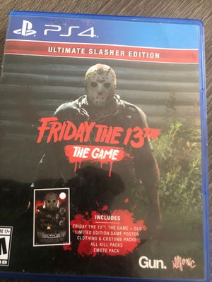 Friday 13th ps4 for Sale in Cleveland, OH