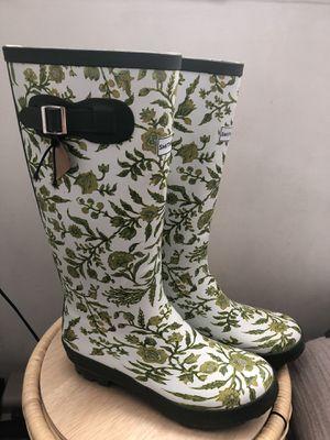 Smith and hawkin women leaf rain boots NEW for Sale in Artesia, CA