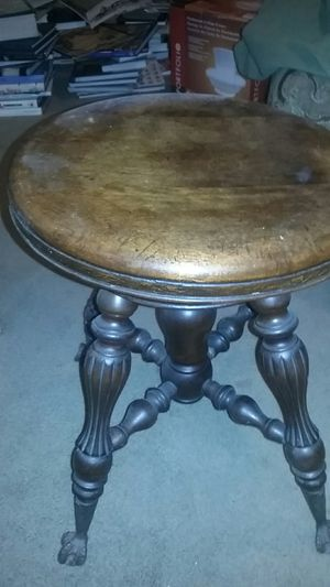 Antique piano stool for Sale in Penndel, PA
