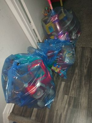 3 bags of kids toys boys and girls for Sale in Richardson, TX