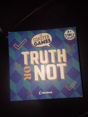 New Truth or Not Coaster Game for Sale in Pasadena, TX
