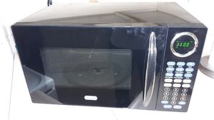 Sunbeam microwave black for Sale in Tacoma, WA