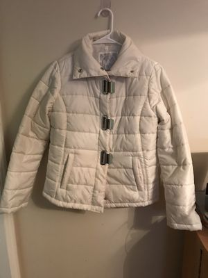 Authentic Michael Kors coat with Chrome detailing for Sale in Pasadena, CA