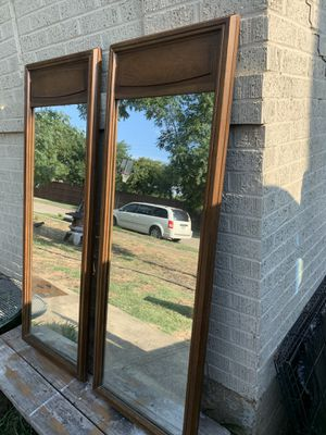 Pair of mirrors for Sale in Dallas, TX