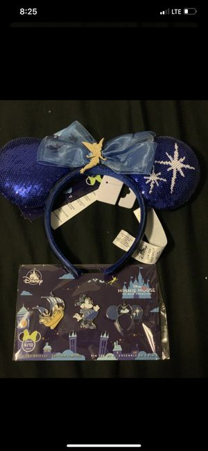 Disney ear and pin set for Sale in Temple City, CA