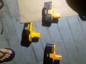Dealt and ryobi batteries 18v batteries for Sale in Binghamton, NY