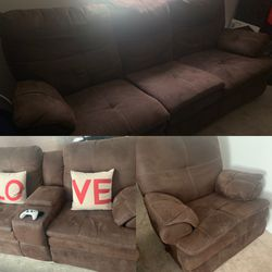 3-Piece Reclining Couch Set for Sale in Highland,  UT