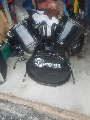 Gammon 5 piece drum set for Sale in Brandon, FL