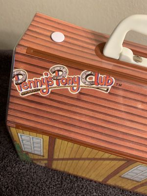 Pennys Pony club stable case retro toy 1987 collectables for Sale in El Paso, TX
