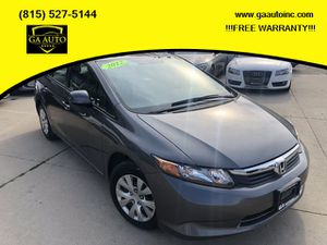 2012 Honda Civic for Sale in Woodstock, IL