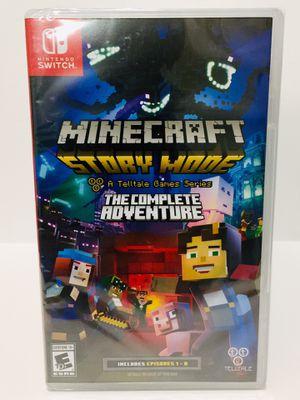 Minecraft Story Mode The Complete Adventure Nintendo Switch for Sale in Bothell, WA