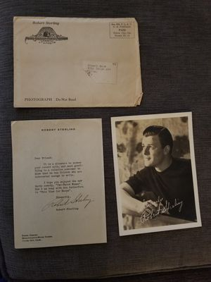 1960s Robert Sterling Autograph and Photo for Sale in Chevy Chase, MD
