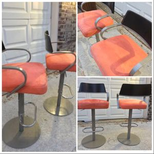 Retro Heavy Metal Bar/Island Stool Set for Sale in Inverness, IL