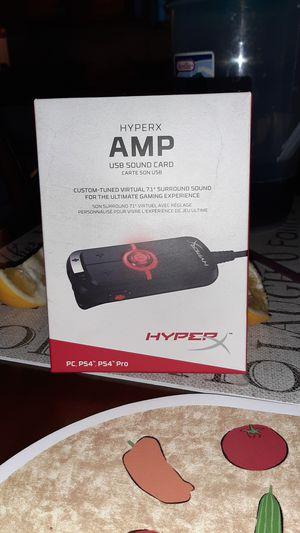 HyperX AMP USB sound card for Sale in Artesia, CA