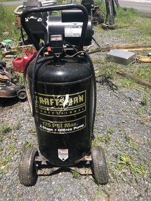 Craftsman 175PSI air compressor for Sale in Harrisonburg, VA