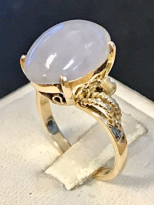 Gold moon stone lady's ring for Sale in Riverview, MI