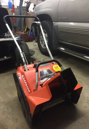 Gilson Snow Cannon snow blower for sale for Sale in Plymouth, CT