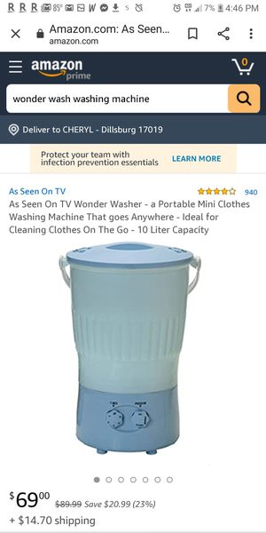 Portable Washing Machine - new used 1time for Sale in Dillsburg, PA