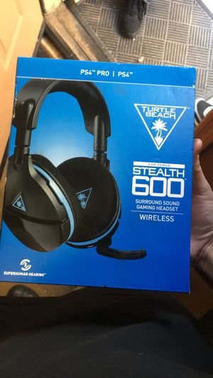 Turtle beach Air Force stealth 600 surroundsound gaming headset for Sale in Buckeye, AZ