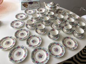 Fenton Staffordshire vintage tea set 42 pieces for Sale in Oakton, VA