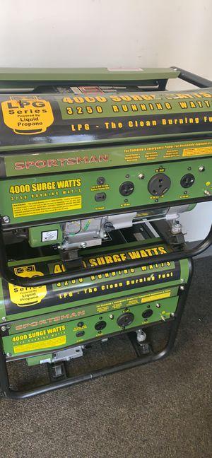4000 watt LP generators for sale! for Sale in Maryland Heights, MO