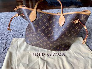 Never full brown designer bag! for Sale in Costa Mesa, CA