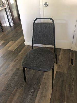 Metal Chair with Cushion for Sale in Falls Church, VA