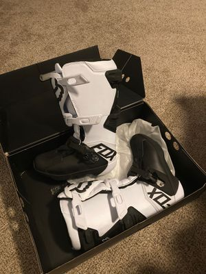 Fox comp dirt bike boots for Sale in OR, US