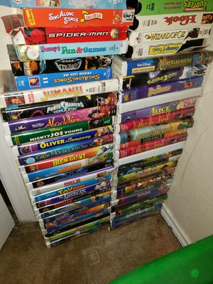 VHS collection for Sale in Killeen, TX