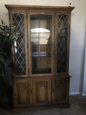 Antique China Hutch for Sale in Chandler, AZ
