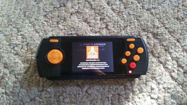 Atari hand held game