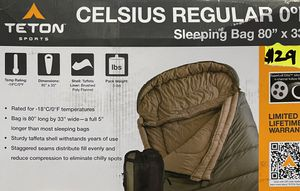 Teton Sleeping Bag 80x33 for Sale in South Gate, CA