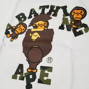 BAPE 1st Camo College Milo White/Green Tee for Sale in Chicago, IL