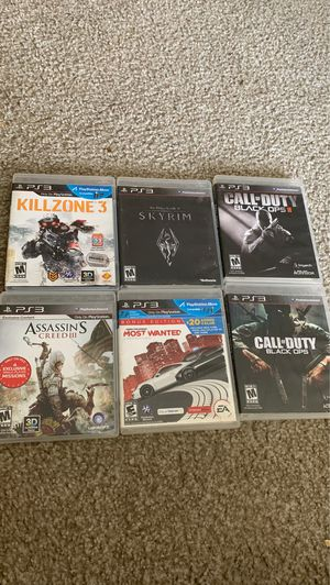 Ps3 games exellent condition for Sale in Littleton, CO