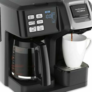 Hamilton Beach FlexBrew Trio Coffee Maker, 2-Way Single Serve & Full 12c Pot, Compatible with K-Cup Pods or Grounds, Combo for Sale in Indianapolis, IN