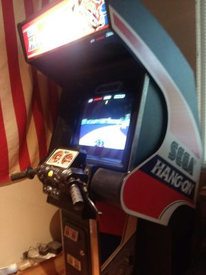 Saga hang on motorcycle racing arcade game great condition needs sound bar ,you can get online for 45$ for Sale in Marysville, WA
