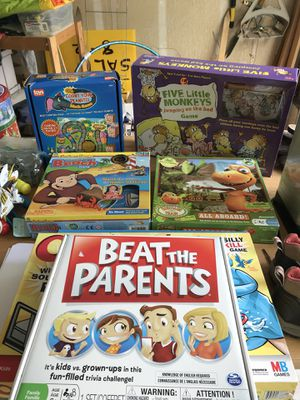 Lot of Kids games for Sale in Vancouver, WA